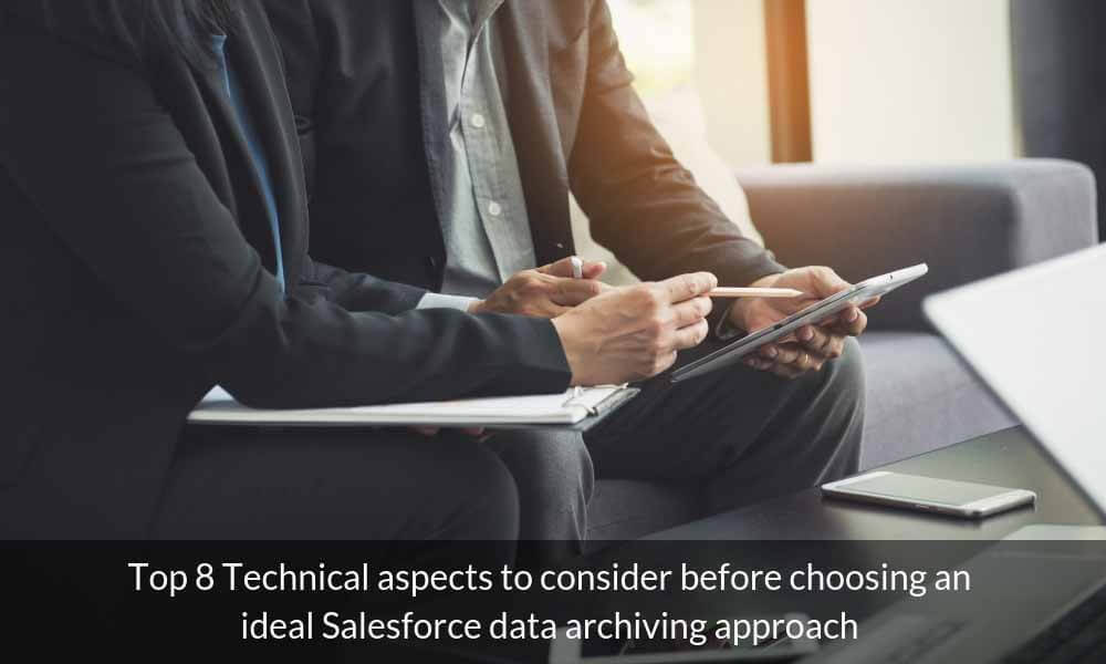 technical aspects salesforce data archiving