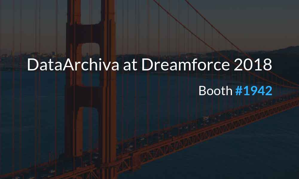 DataArchiva at Dreamforce