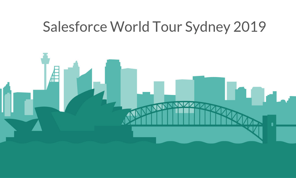 Salesforce World Tour Sydney 2019