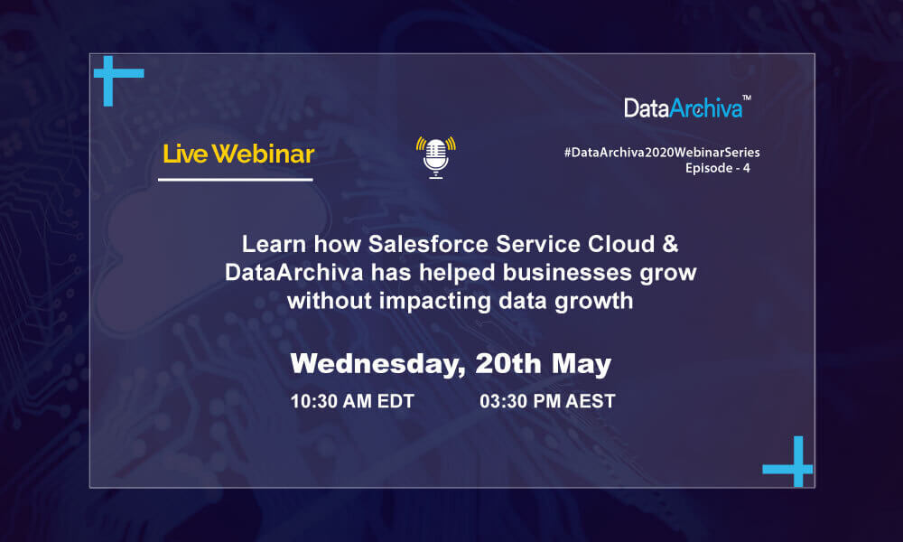 Learn how Salesforce Service Cloud & DataArchiva has helped businesses grow without impacting data growth