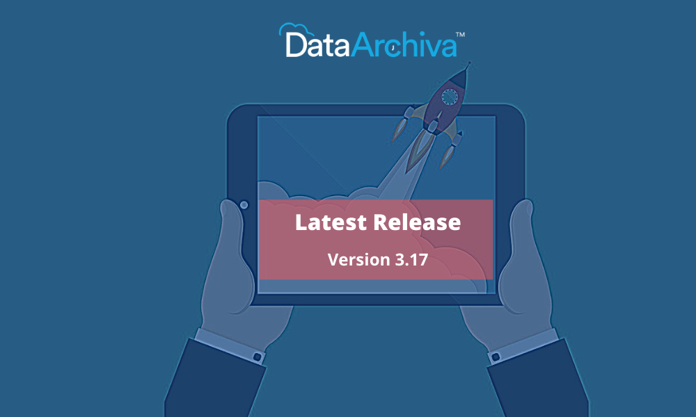 DataArchiva Version 3.17 Release