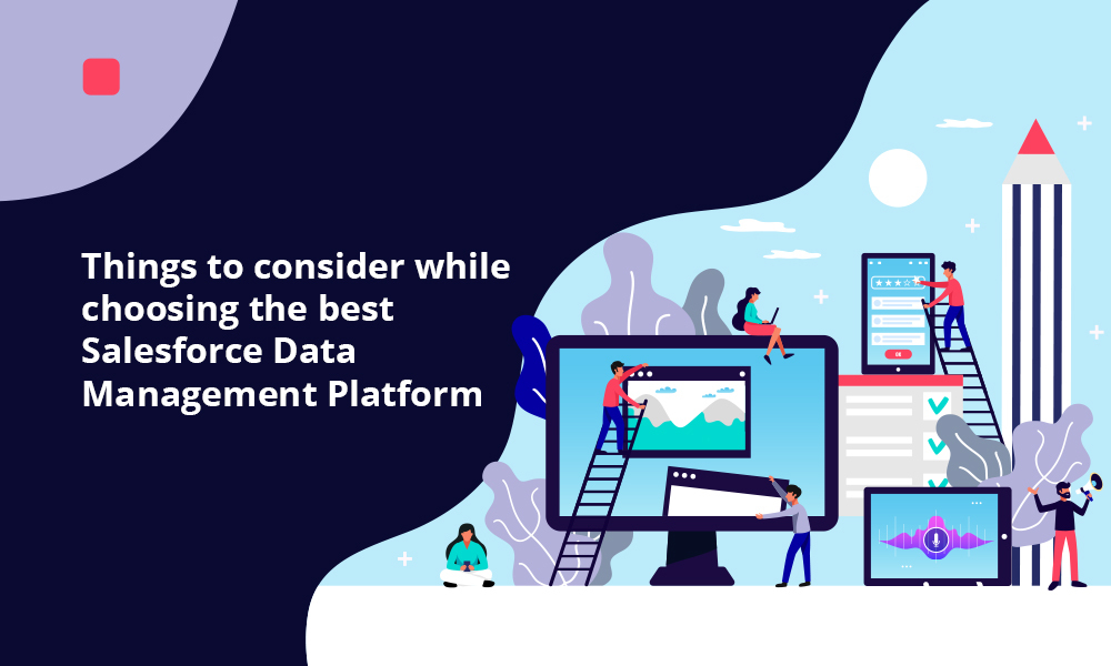 Things to consider while choosing the best Salesforce Data Management Platform